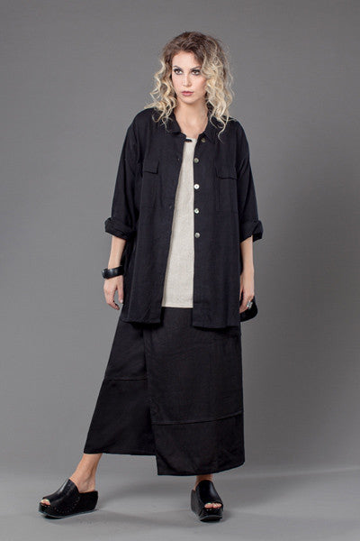 Shown w/ Pocket Overlap Skirt and Phocket Jacket
