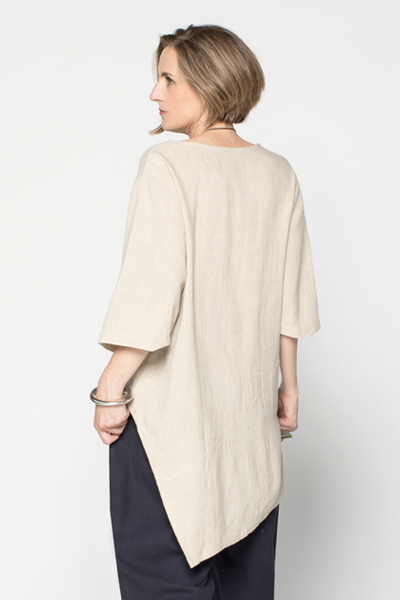 Nagano Tunic in Natural Roma