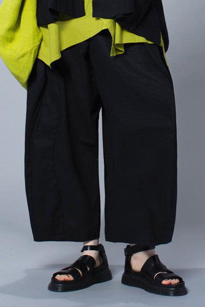 Euro Pant in Black Napoli