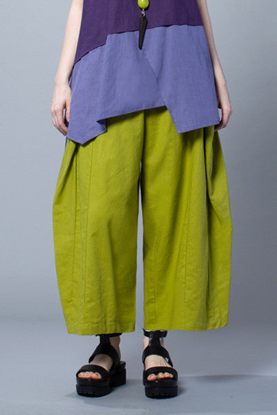 Euro Pant in Lime Napoli