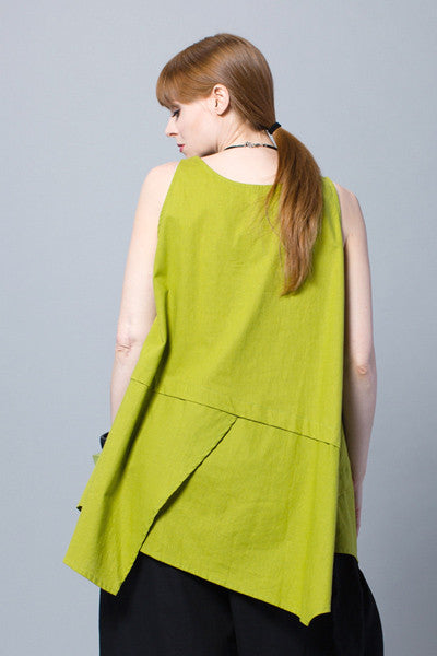 Action Top in Lime Napoli