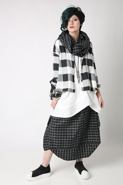 Shown w/ Meteor Tunic, Brancusi Skirt, and Carnaby Scarf