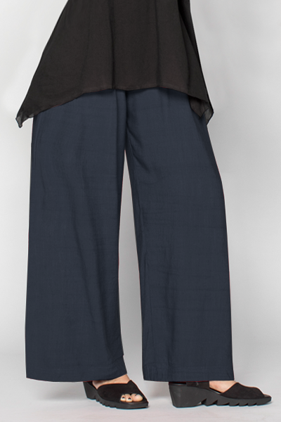 Palazzo Pant in Navy Roma