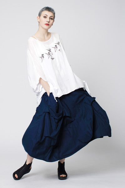 Shown w/ Giant Pocket Skirt