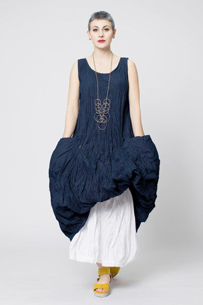N/S Fab Dress in Navy Carnaby
