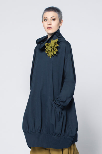 Bubble Tunic in Navy Tokyo
