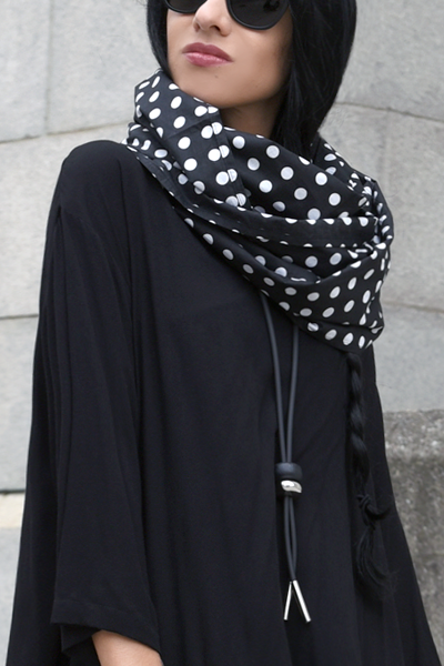 Carnaby Scarf in Polka Dots Carnaby