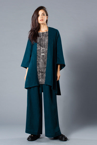 Shown w/ 3/4 Basic Top and Palazzo Pant
