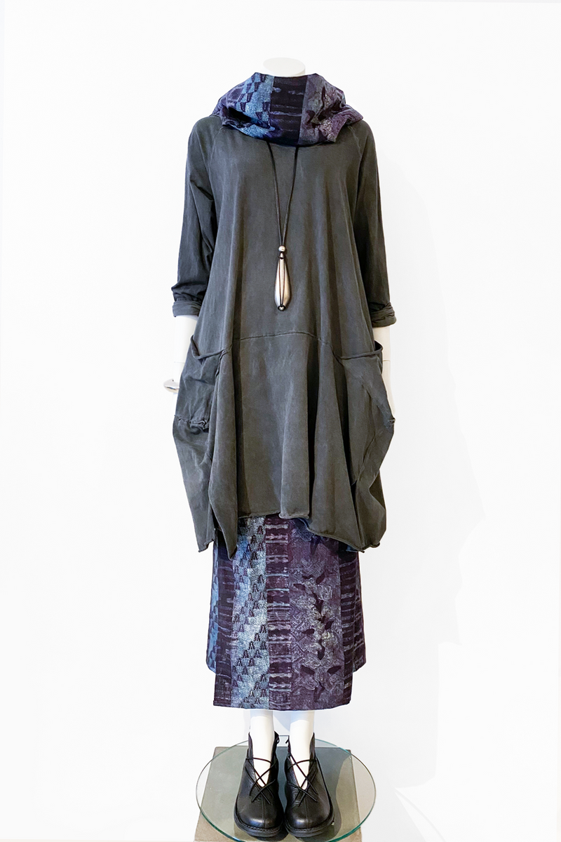 Shown w/ Bolzano Tunic and Crop Jacket worn as a Scarf