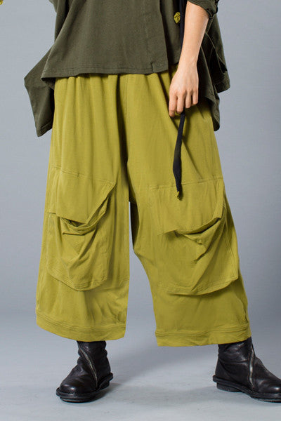 Cool Pant in Green Chartreuse Tokyo