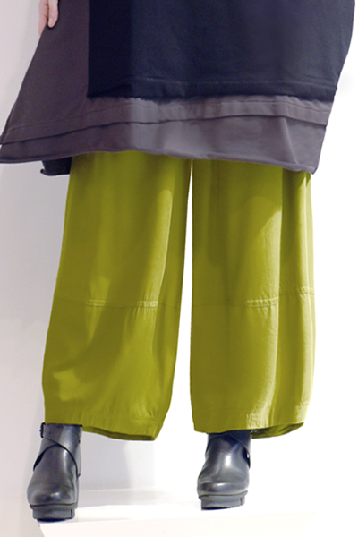 Alamo Pant in Green Chartreuse Boston