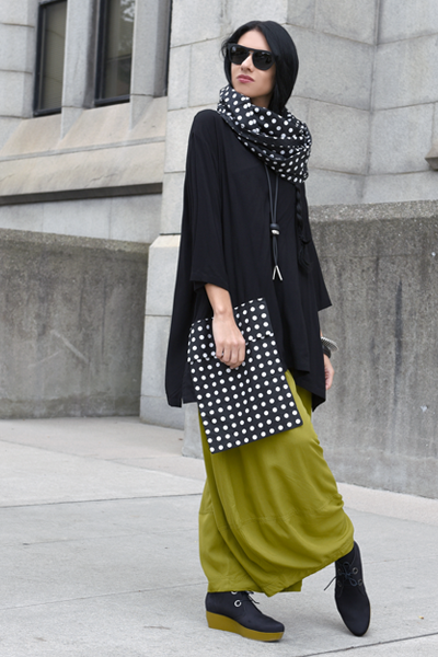 Shown w/ One Pocket Top and Carnaby Scarf