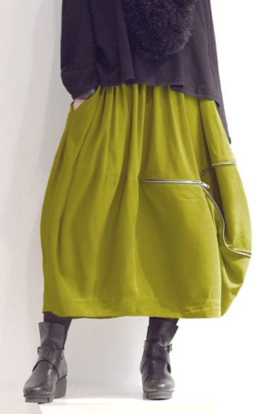 Sonoma Skirt in Green Chartreuse Boston