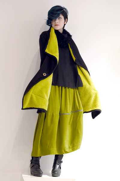 Shown w/ Brittany Sweater, Alembika Open Front Jacket, and Art Point Circle Scarf