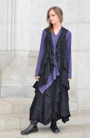 Shown w/ Manifold Skirt and Ruffle Vest