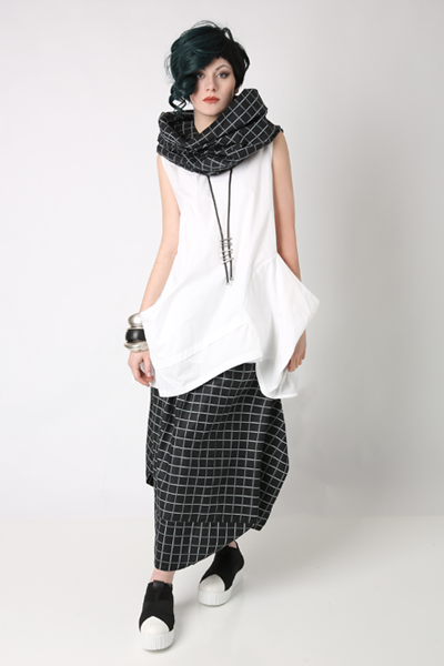 Shown w/ Meteor Tunic and Brancusi Skirt