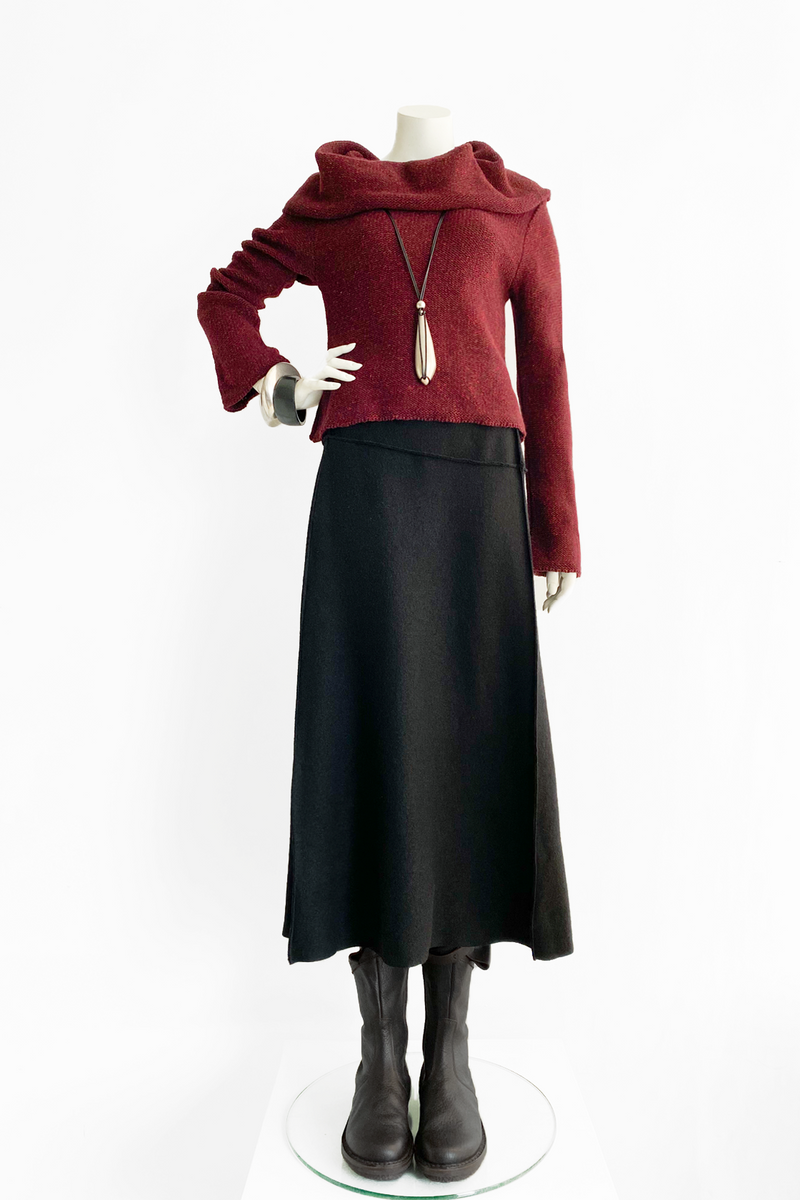 Shown w/ Short Cowl Top