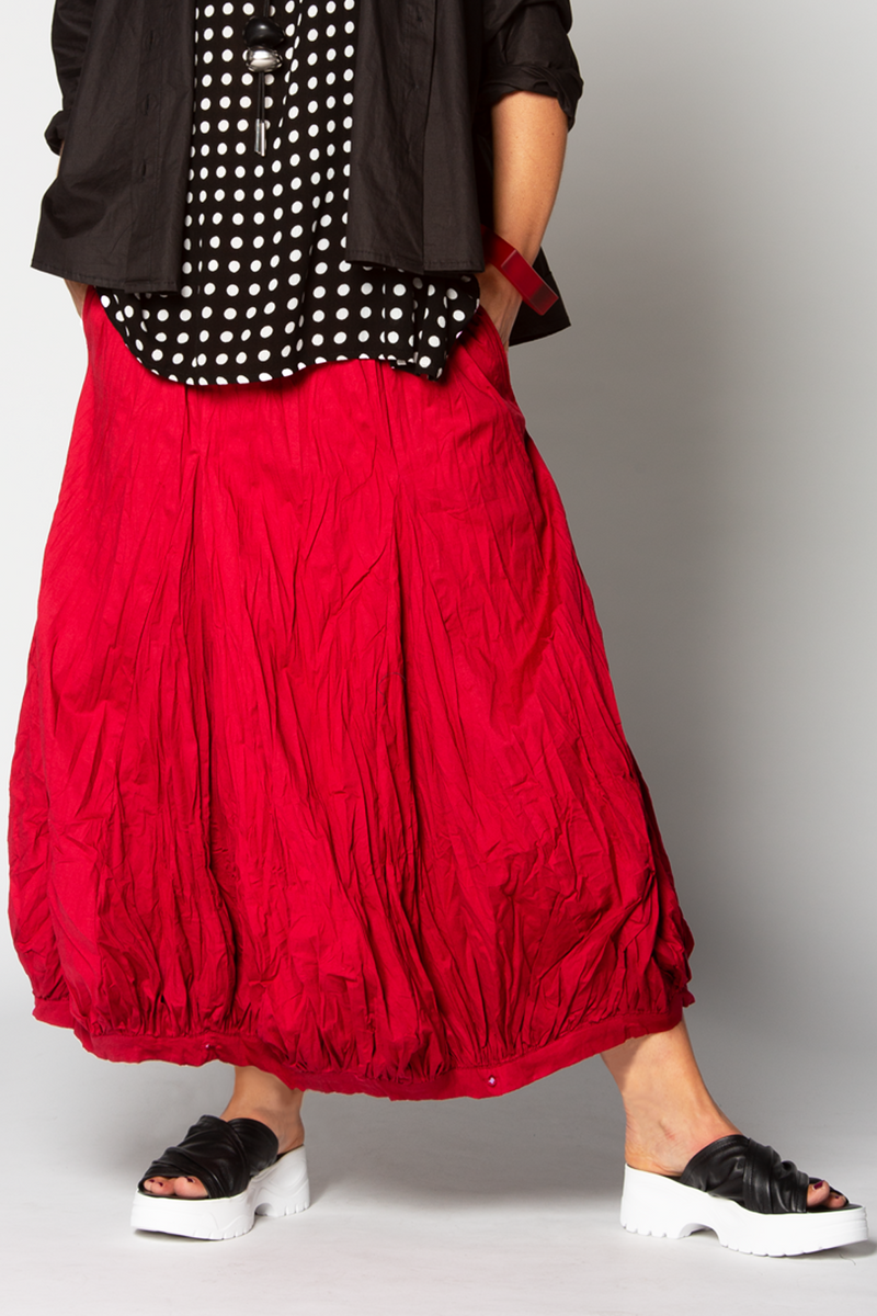 Fab Skirt in Carnaby ROUGE