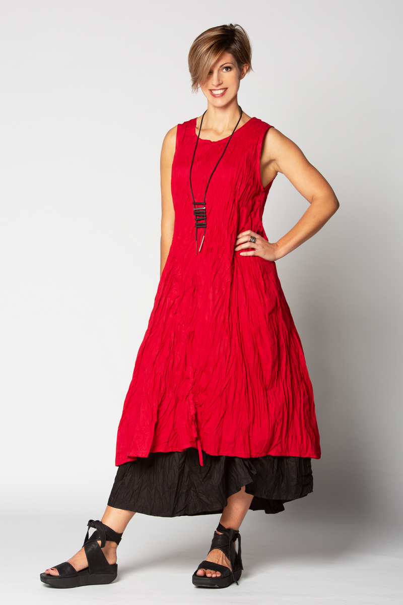 N/S Shiraz Dress in Carnaby ROUGE