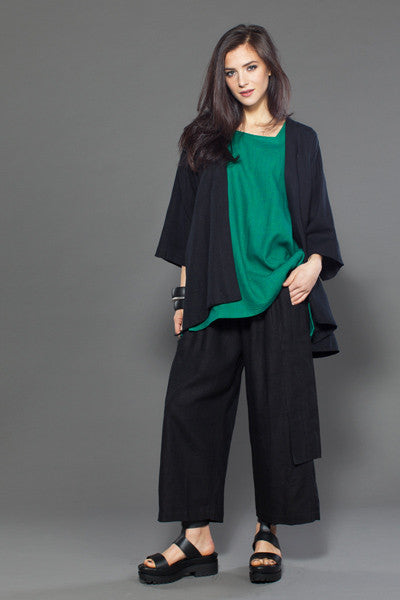 Shown w/ Short Kimono Jacket and O.P.S. Top