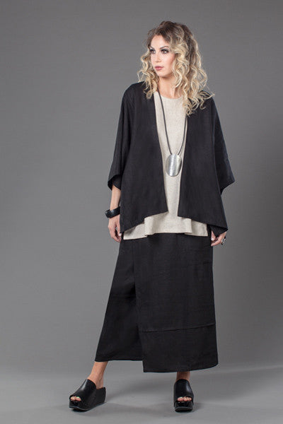 Shown w/ Y-Tank and Short Kimono Jacket