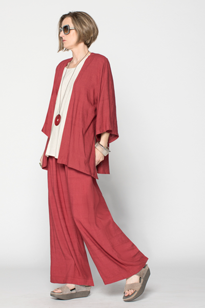 Shown w/ Kura Top and Palazzo Pant