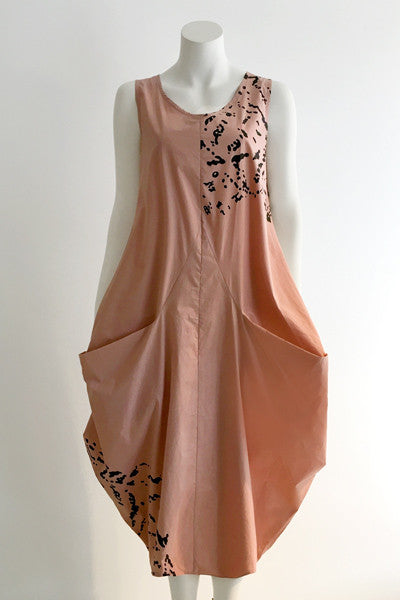 Edi Dress in Dusty Rose Blossom Carnaby