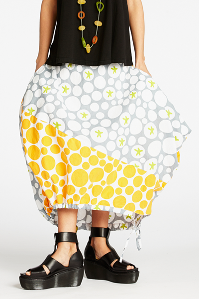 Facade Skirt in Star Bellini Carnaby