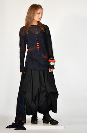 Shown w/ Parachute Skirt and Sunset Scarf