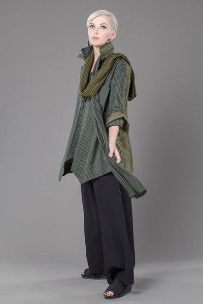 Shown w/ Palazzo Pant and Combi Scarf