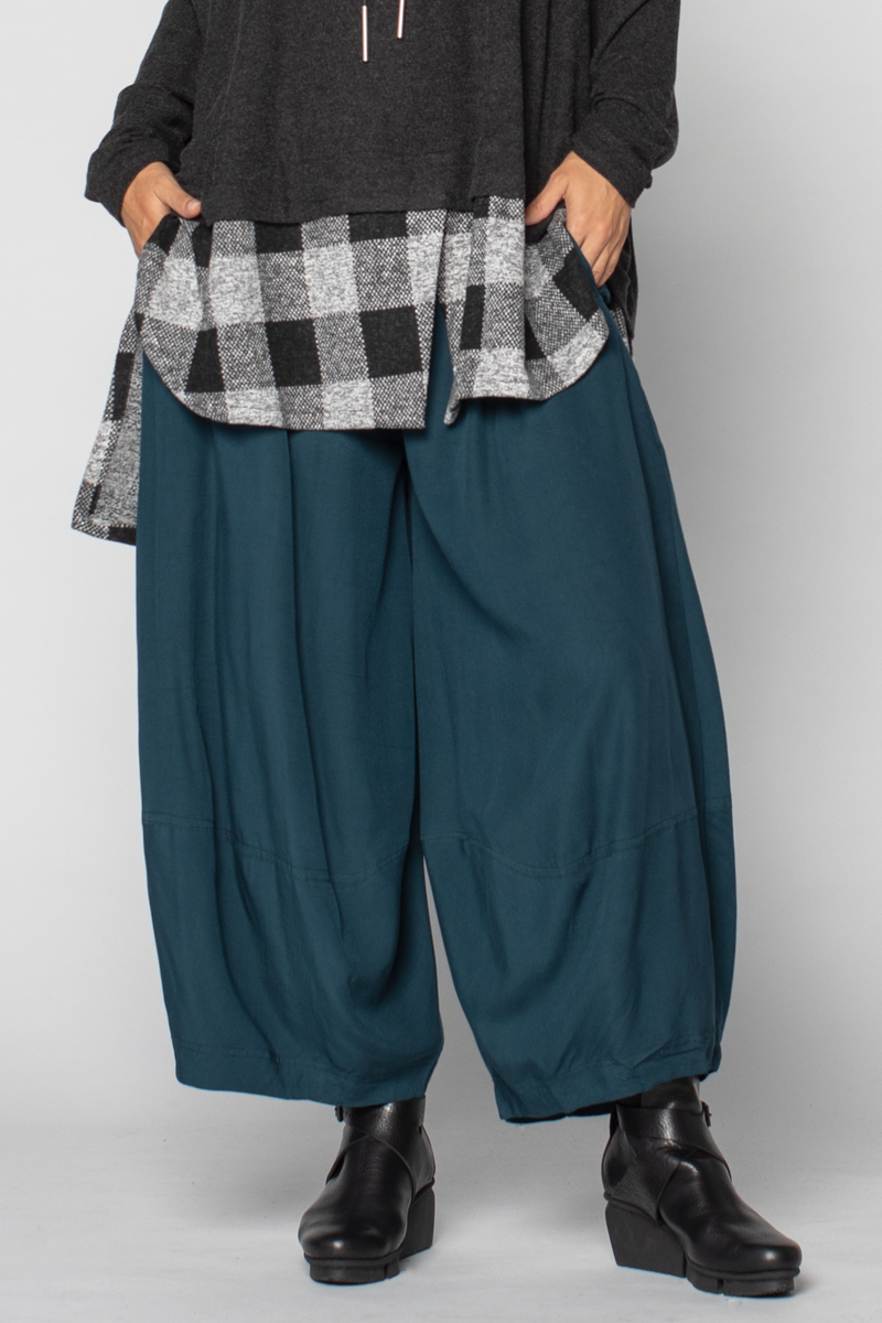 Alamo Pant in Teal Boston
