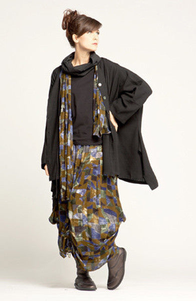 Shown w/ Amazing Skirt, Square Jacket, and Crinkle Scarf