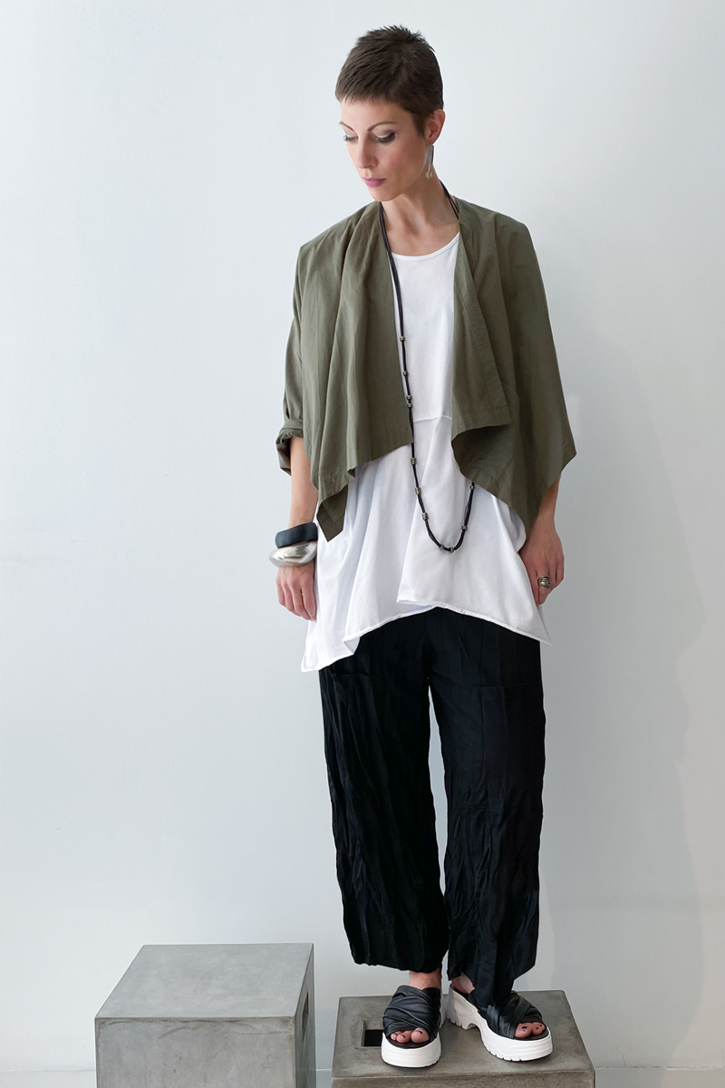 Shown w/ Carmel Tank and Twisted Pocket Pant