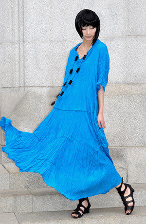 Modena Dress in Turquoise Delphi