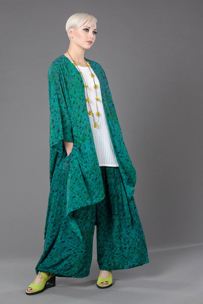 Shown w/ Y-Tank and Long Kimono Jacket