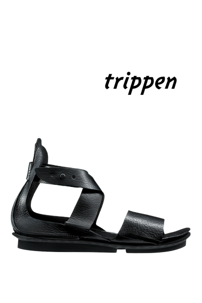 Trippen COL in Black