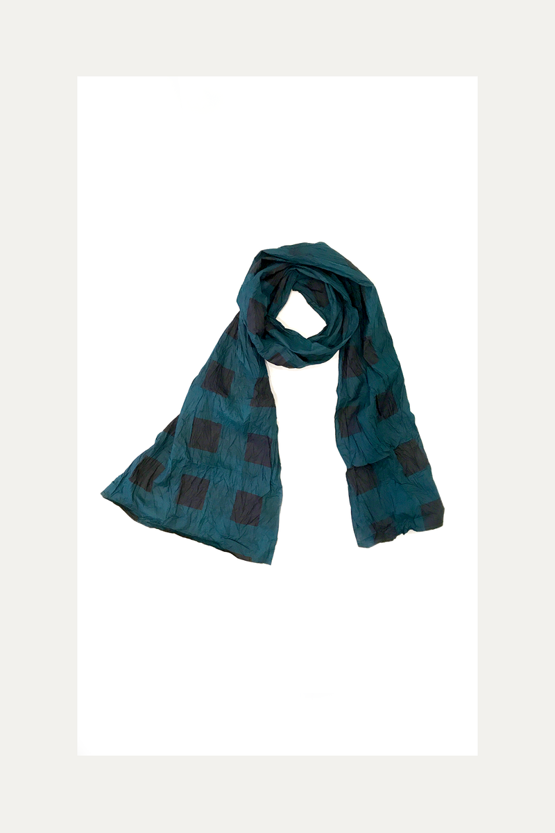 Carnaby Scarf in Teal Nove Carnaby
