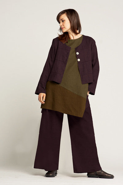 Shown w/ Palazzo Pant and Quadra Crop Jacket