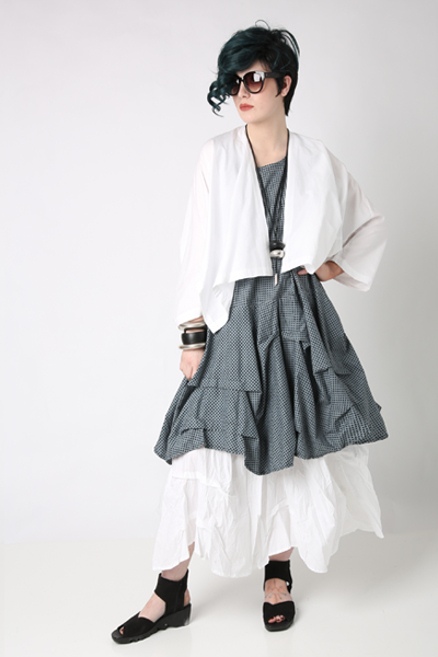 Shown w/ Monterey Jacket and Manifold Skirt
