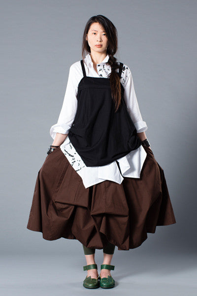 Shown w/ Swiss Top and Parachute Skirt