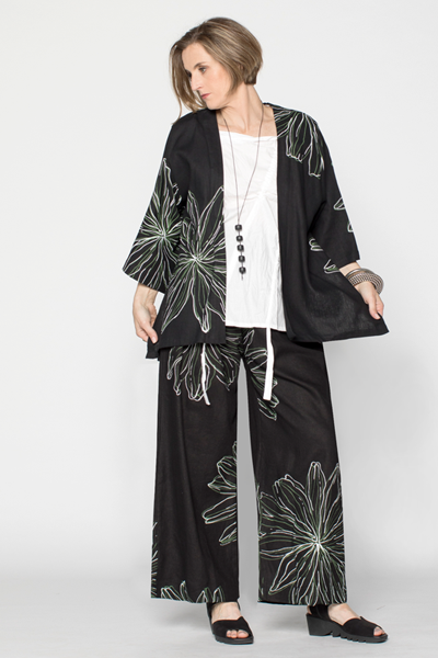 Shown w/ Viko Top and Short Kimono Jacket