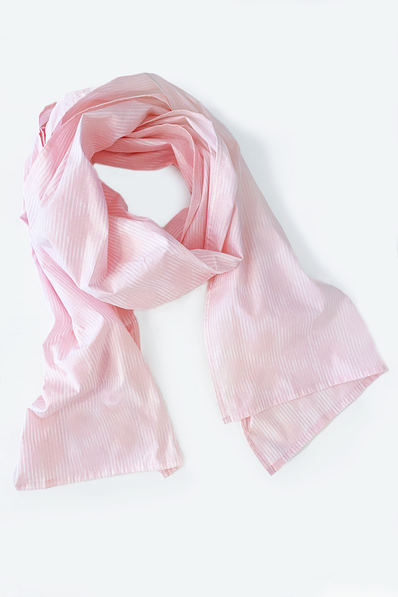Carnaby Scarf in Pink Shibuya Carnaby