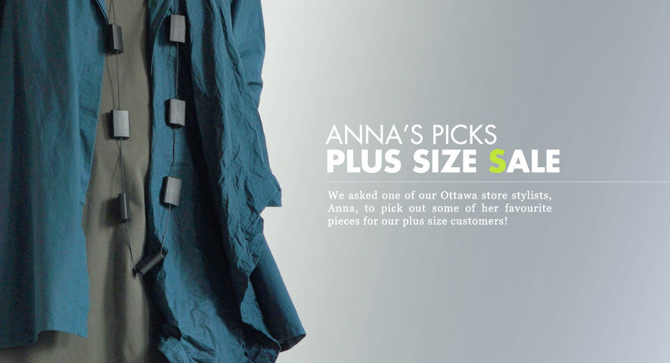 Lookbook: Anna's Plus Size Sale