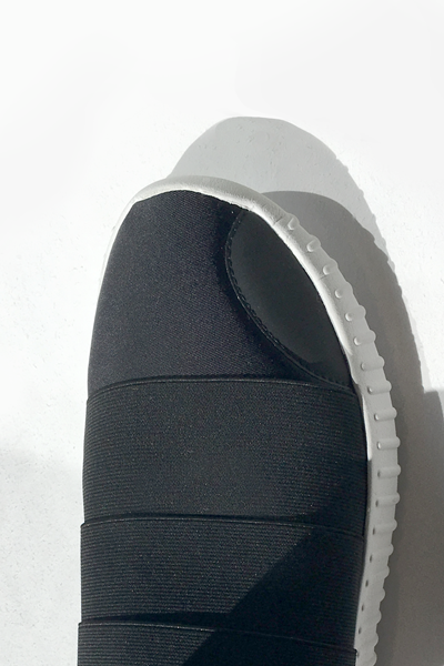 Fessura Shoe in Black/White