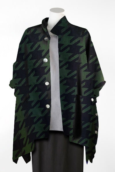 Ginza Jacket in Houndstooth Roma