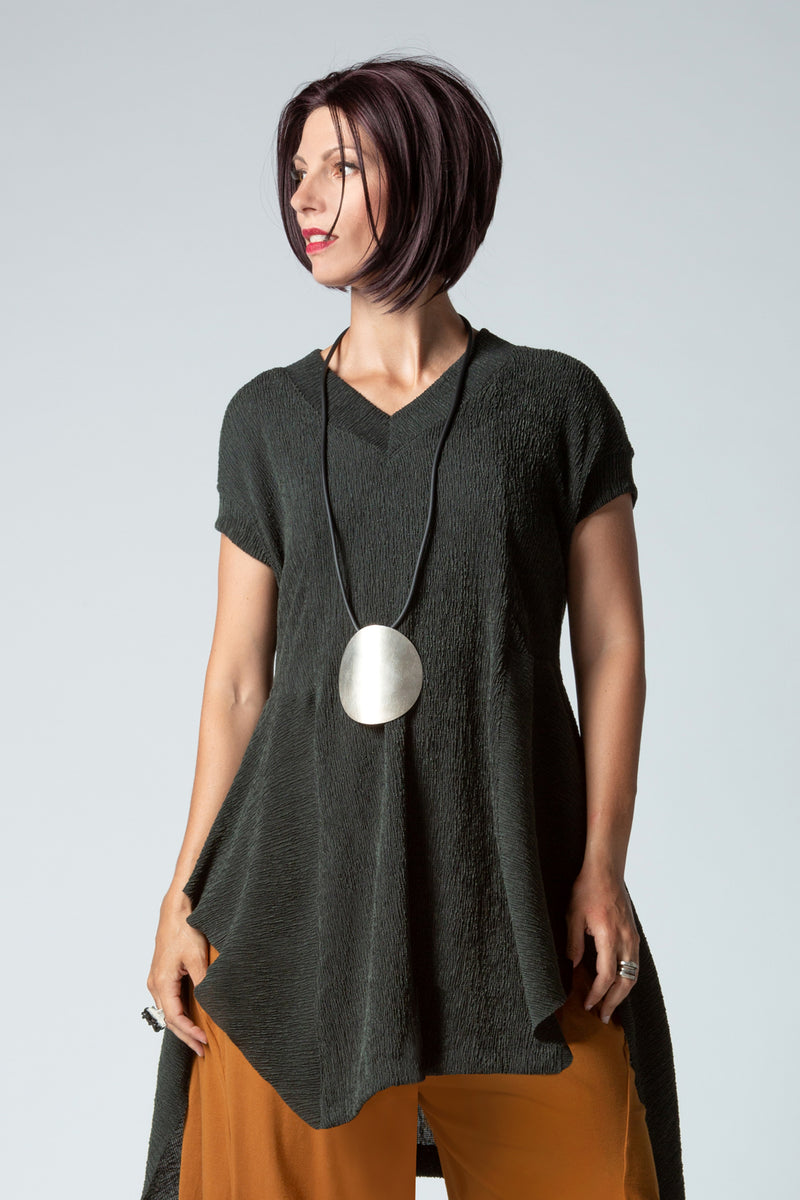 Gershon Riga Tunic in Dark Green