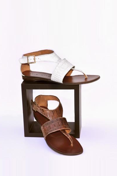 Chie Mihara Jonas in White & Brown