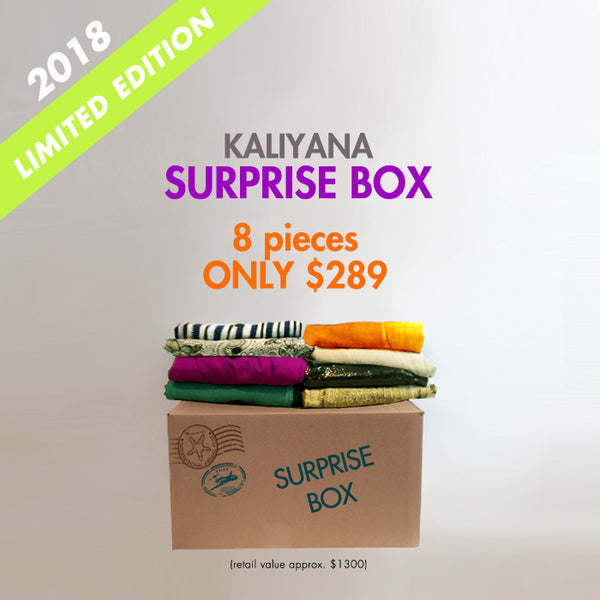Kaliyana Surprise Box in 2018 Limited Edition