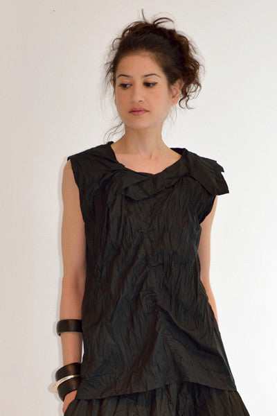 Michiko Top in Black Carnaby