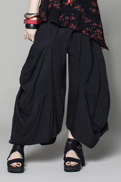 Odyssey Pant in Black Papyrus